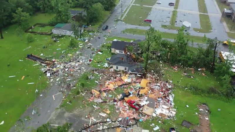 Nature's wrath is being felt across America. Powerful, violent storms are leaving behind paths...