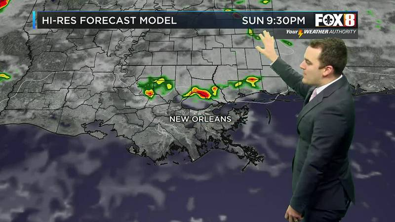 Some storms possible
