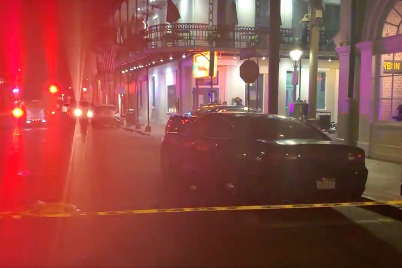 Five people were shot during an incident at the corner of Bourbon Street and Orleans Avenue...