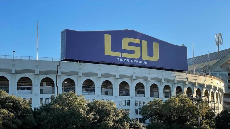 WAFB file photo of LSU's Tiger Stadium in Baton Rouge, La.