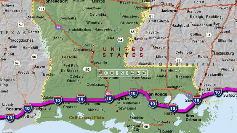 I-10 is now open throughout the entire state of Louisiana as of 4 p.m. Wednesday, Feb. 17,...