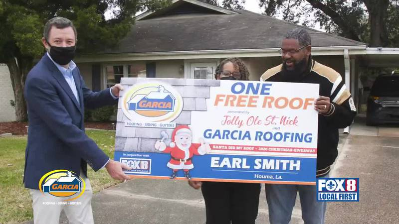 Garcia Did My Roof Contest