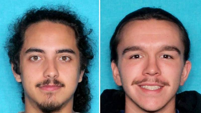 Nickolaz Rodriguez (left) and Cody Hoffpauir (right)