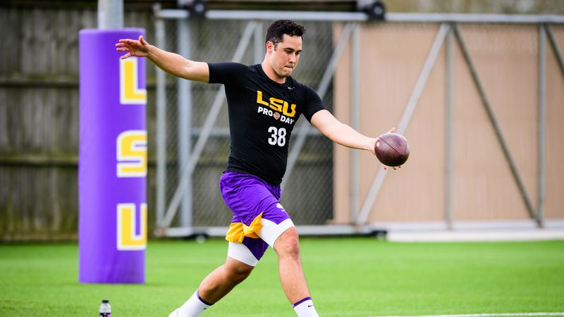 Football Pro Day Photo by: Gus Stark