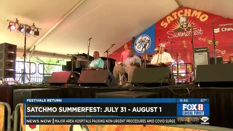 Satchmo Summer Fest returns
