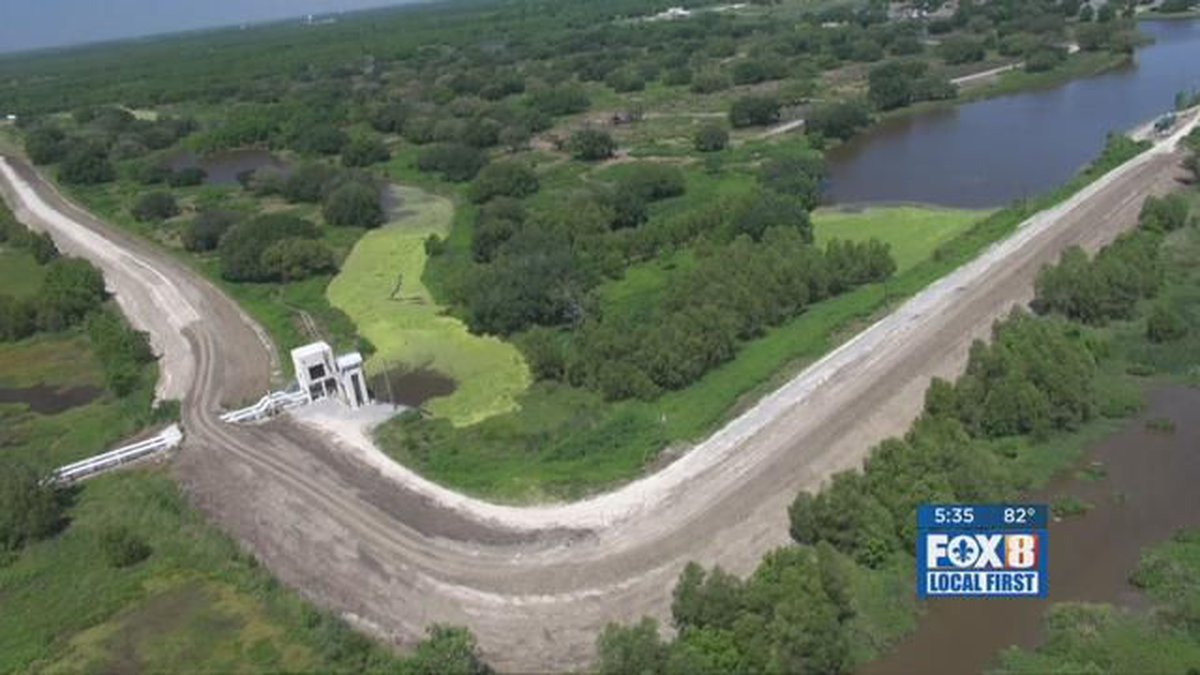 GF Default - Plaquemines Parish spends $7 million on coastal project in Orleans, only to see no...