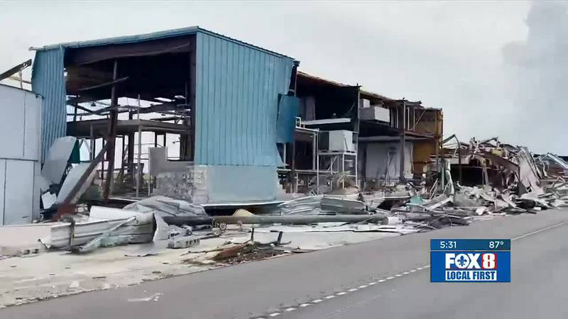 25% of houses in Lafourche Parish are destroyed or uninhabitable