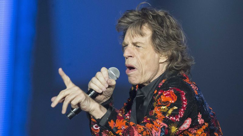 In this Oct. 22, 2017 file photo, Mick Jagger of the Rolling Stones performs during the concert...