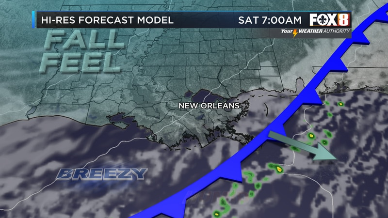 Cold front arrives tonight