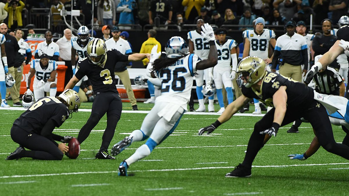 Saints host the Panthers Nov. 24, 2019
