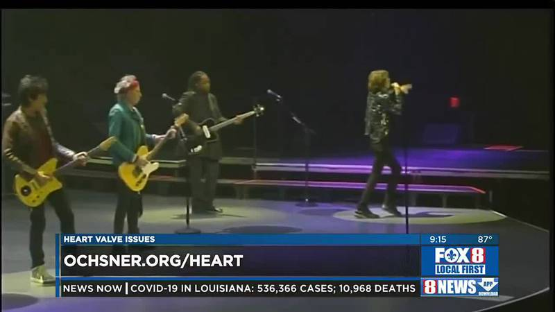 Rolling Stones and Heart Valve