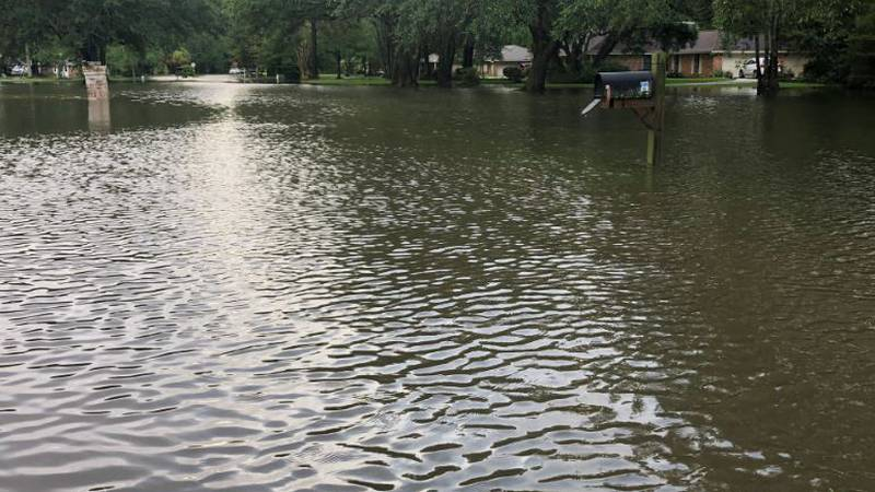 Several neighborhoods and homes in Slidell took on water as TS Claudette moved through.