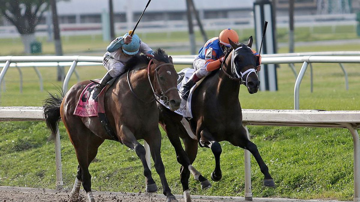 Lone Sailor finished second in the Louisiana Derby. James Graham rides Lone Sailor. Source:...