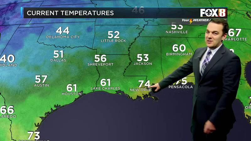 Morning weather update for Saturday, Oct. 16