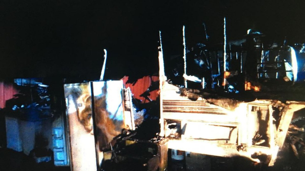 State Fire Marshal deputies are on the scene of a camper fire investigation in Marrero...