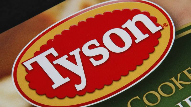 FILE - This Nov. 18, 2011 file photo shows a Tyson Foods product, in Montpelier, Vt.
