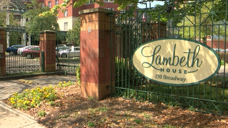 Three people from the Lambeth House have presumptive positive tests for COVID-19.