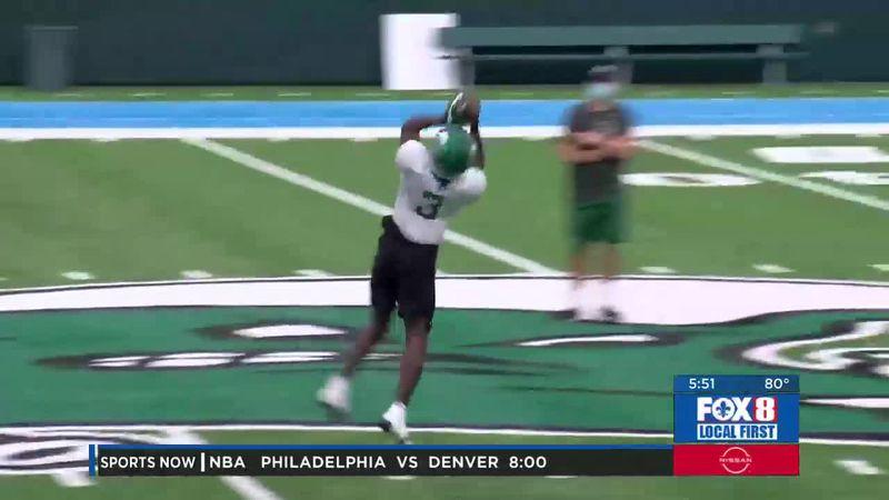 Tulane uses spring football to develop receiver depth