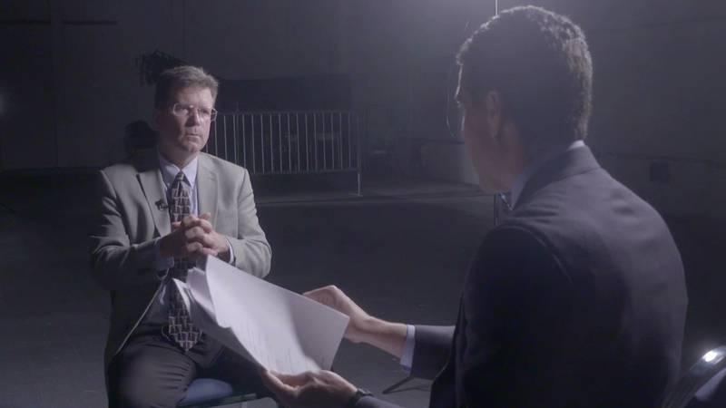 Board of Elementary and Secondary Education member James Garvey speaks to FOX 8's Lee Zurik.