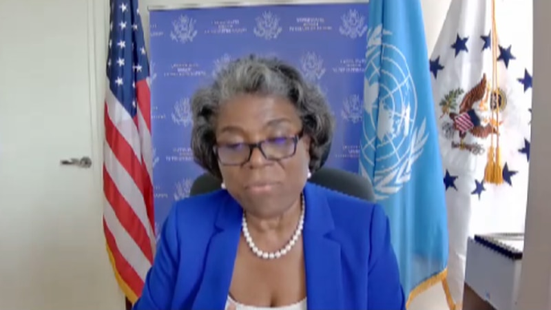 U.N. Ambassador Linda Thomas-Greenfield speaks about being a diplomat. She is a native of...