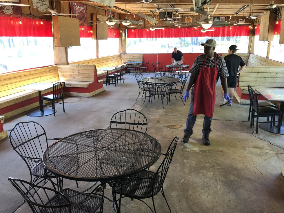 Zippy's on Perkins Road says it plans to reopen its patio Friday, May 1 and follow the...
