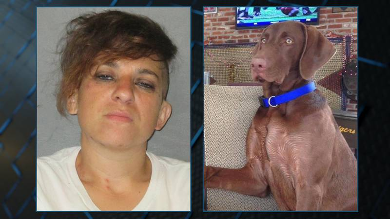 Leslie Aguillard is accused of stealing a man's truck and leaving it on the side of the road...