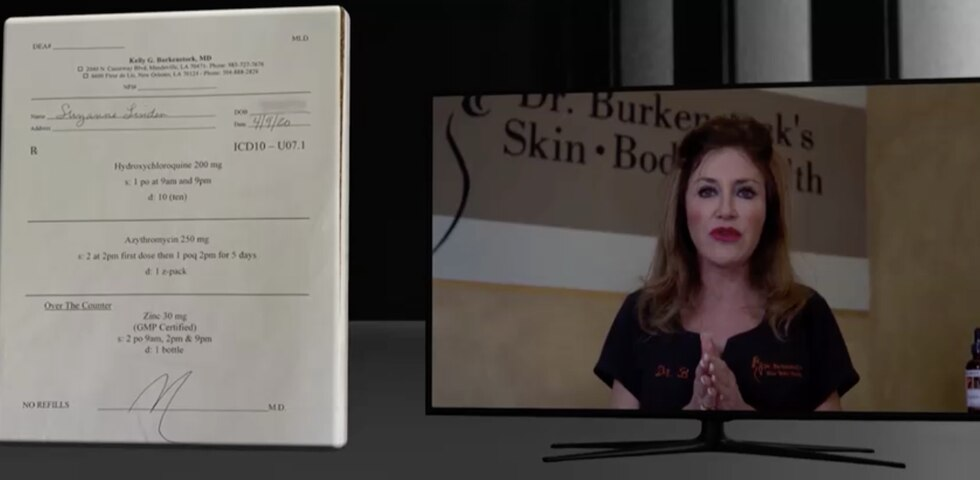 Dr. Kelly Burkenstock has an anti-aging and skin care clinic in New Orleans and Mandeville and...