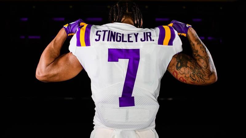 Derek Stingley Jr. will wear No. 7.