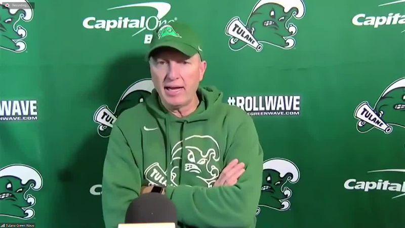 Willie Fritz previews Tulane spring football