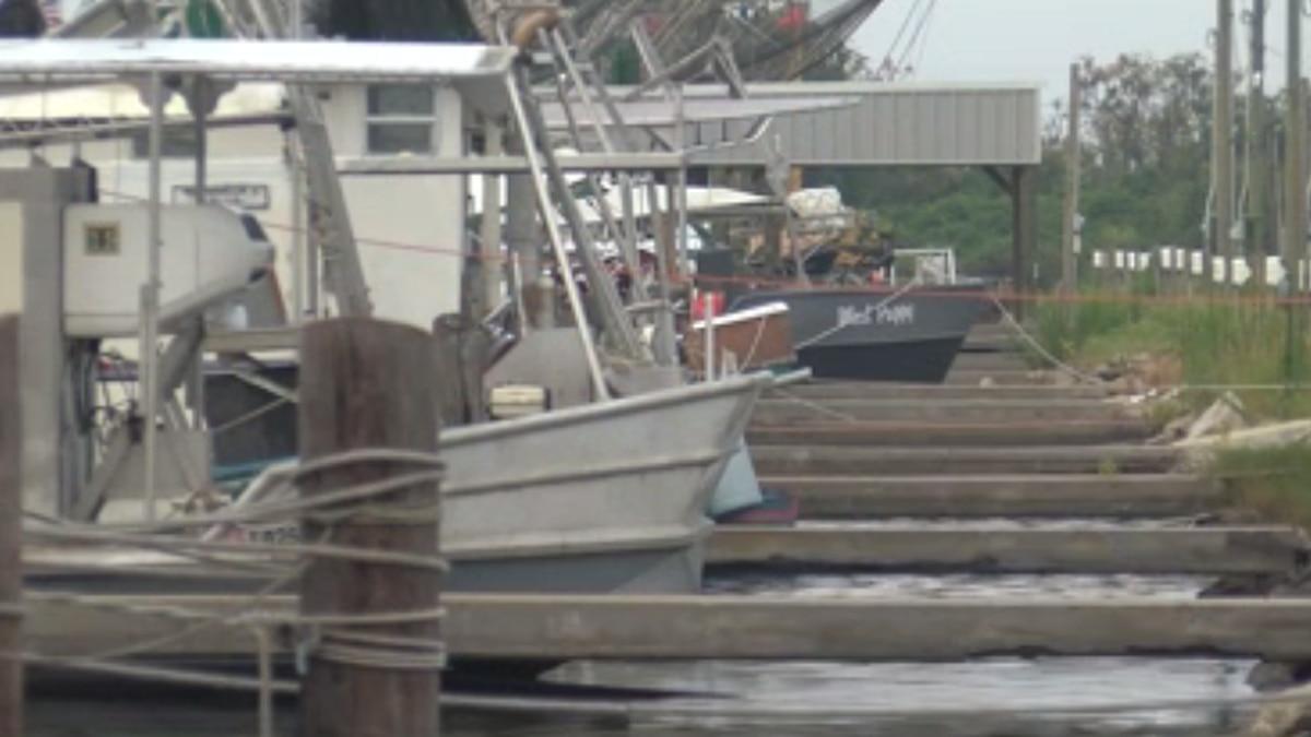 WVUE file photo of commercial fishermen in Plaquemines Parish, La.