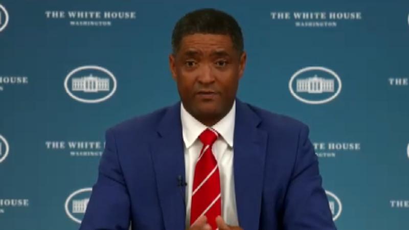 Biden Senior Advisor Cedric Richmond discusses details of the president's anti-crime plan that...