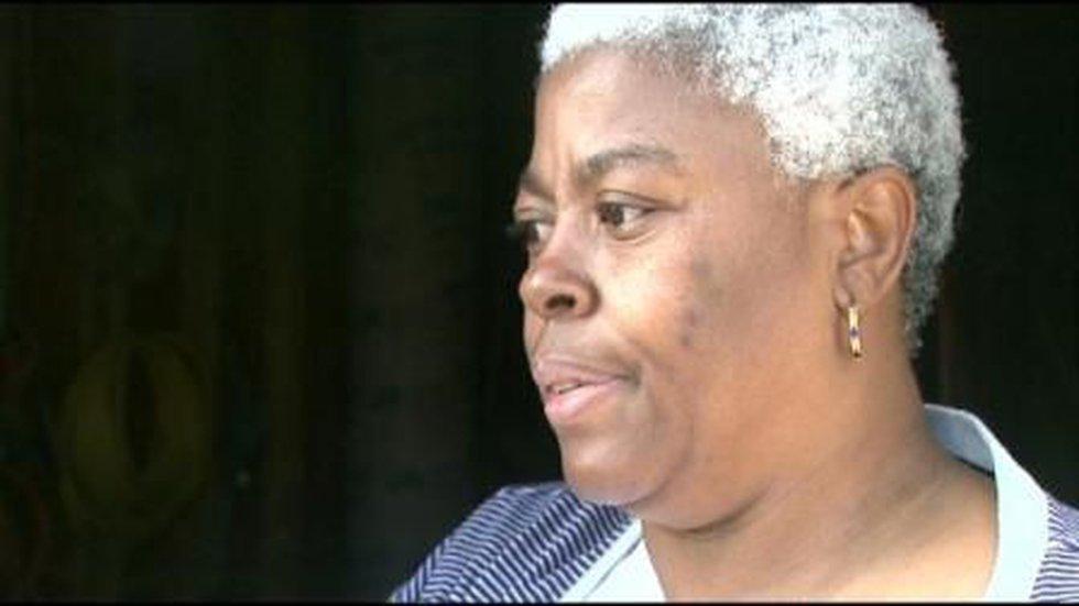Katrina survivor Bobbie Banks criticizes storm remarks by Senate Majority Leader Harry Reid.