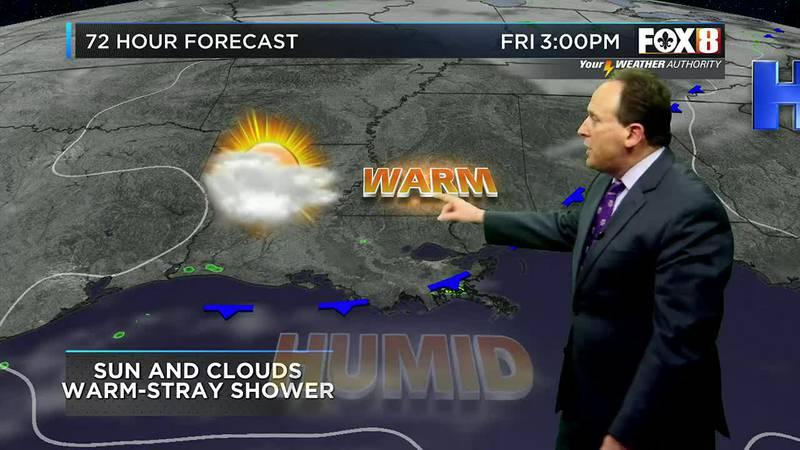 Bruce's Thursday evening weather forecast 10/21