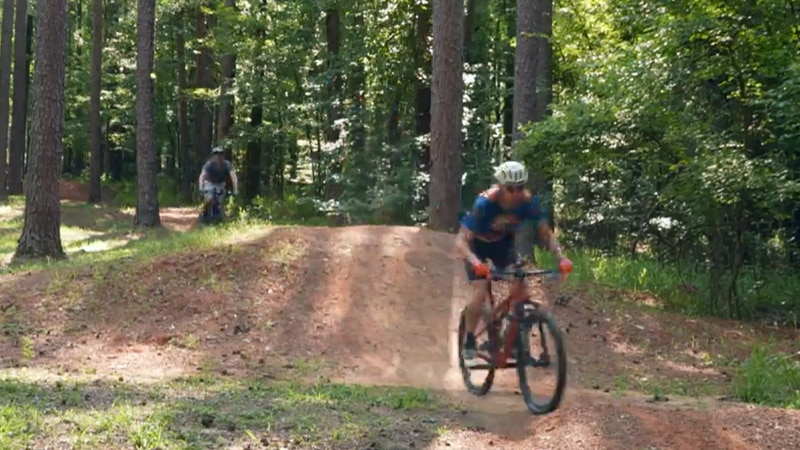 Bicycles have been zooming along these hilly wooded trails near Ruston for nearly two decades....