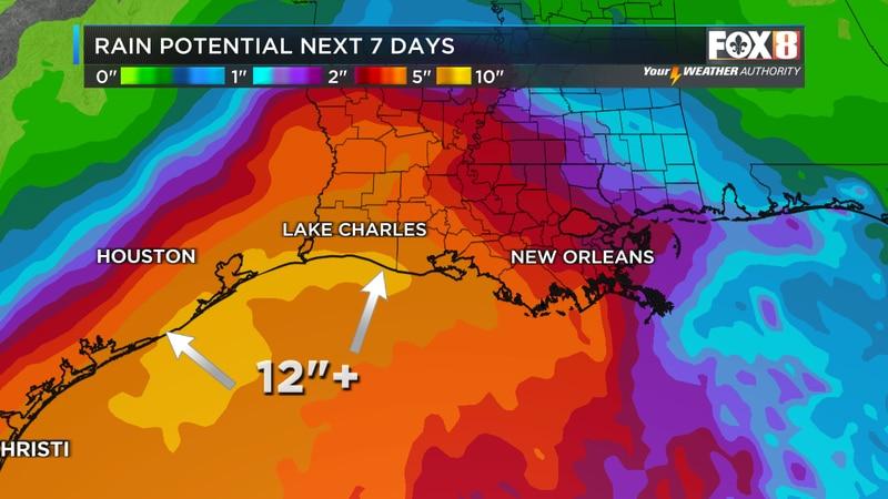 Rainfall potential