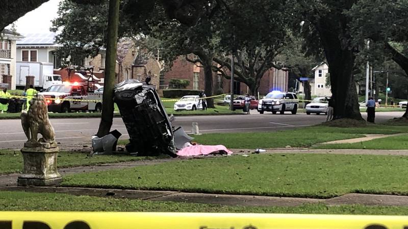 One man was killed in a traffic crash Thursday evening in Gentilly according to NOPD.